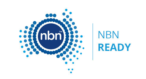 Image of the NBN Ready logo
