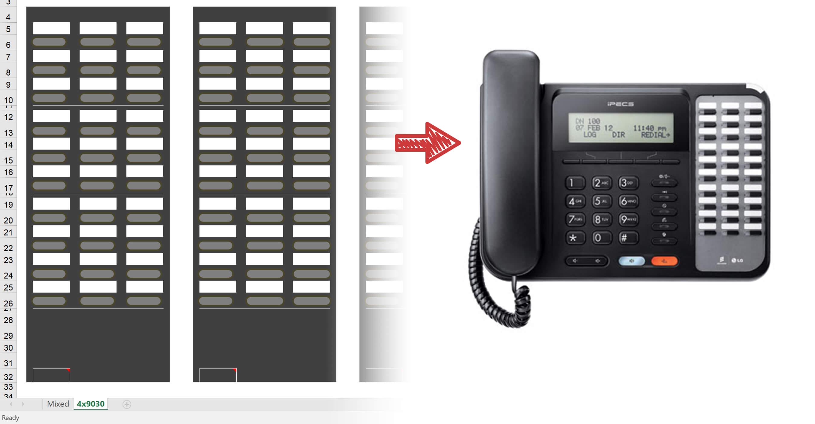 ipecs phone handset label printing guide infiniti. Black Bedroom Furniture Sets. Home Design Ideas