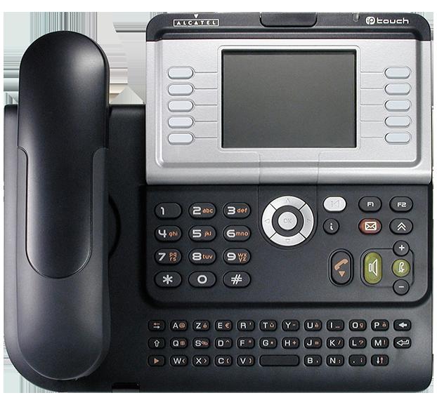Alcatel Lucent 4039 Phone Handset Reception Infiniti